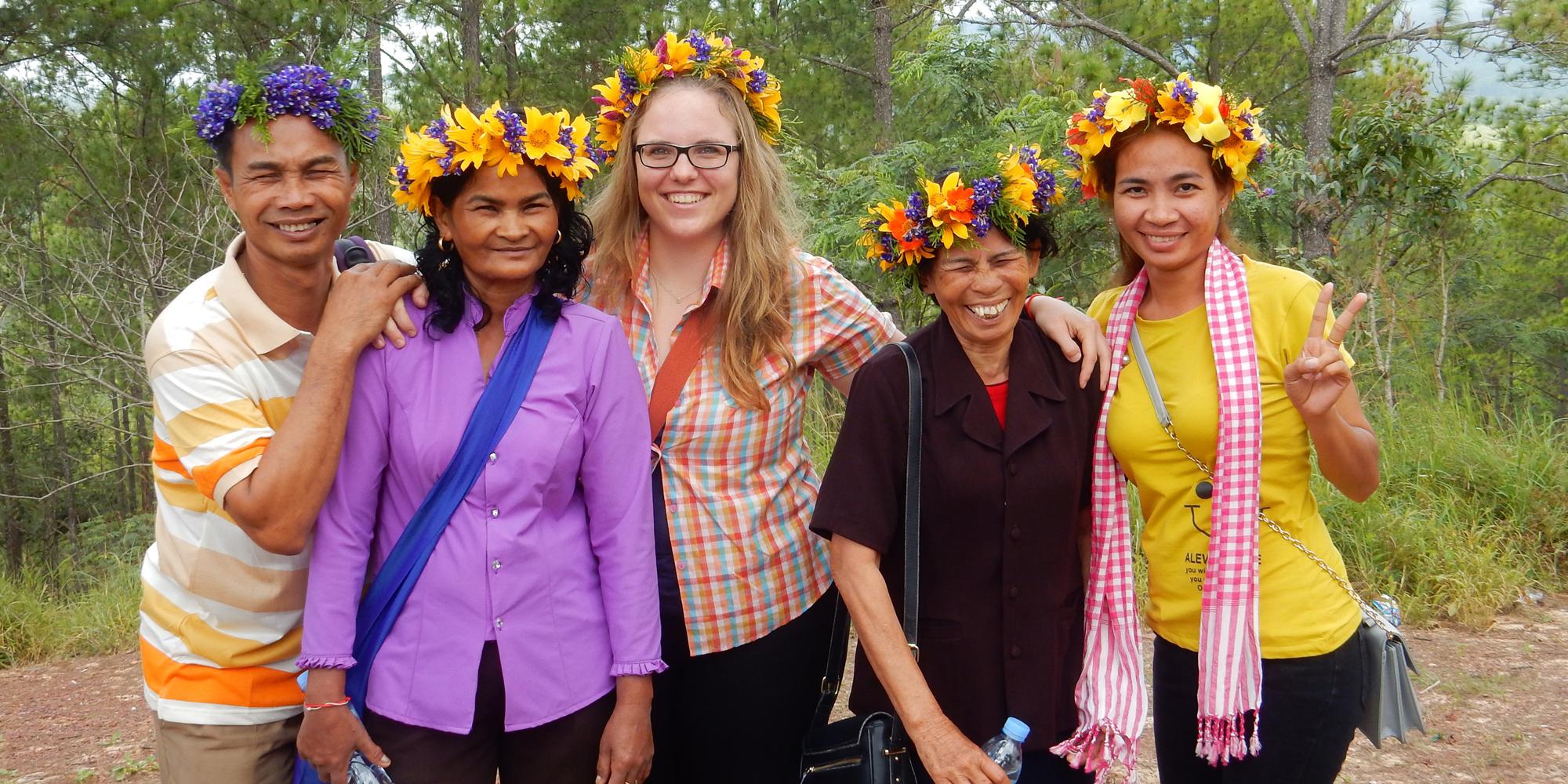 Eintauchen in eine fremde Kultur - Daniela, Kambodscha